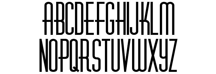 Diner-Fatt Font LOWERCASE