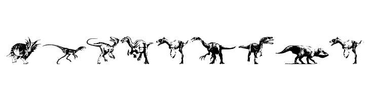 Dinosaurs  नि: शुल्क फ़ॉन्ट्स डाउनलोड