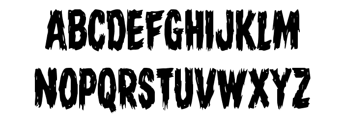 Dire Wolf Condensed Font UPPERCASE