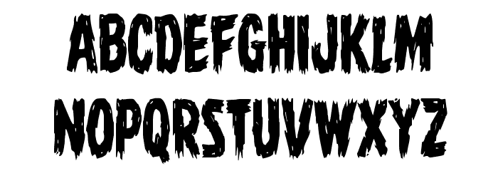 Dire Wolf Condensed Font LOWERCASE