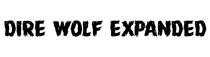 Dire Wolf Expanded  Free Fonts Download