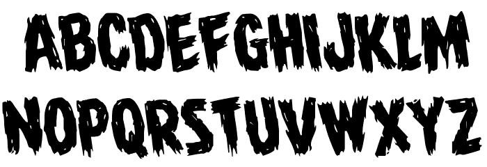 Dire Wolf Rotate Regular Font LOWERCASE