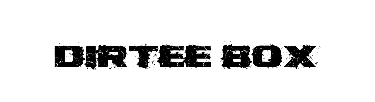 Dirtee Box  Free Fonts Download
