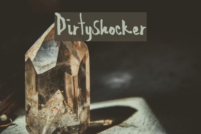 DirtyShocker Fonte examples