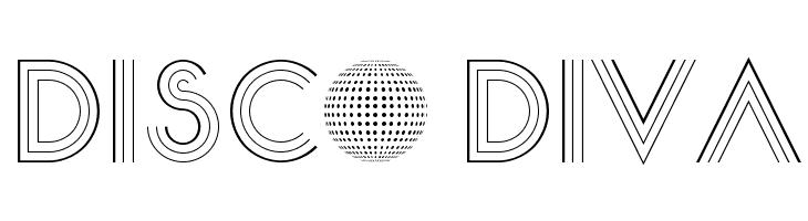 Disco Diva  フリーフォントのダウンロード