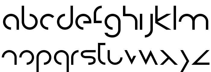 DissolveRegular Шрифта строчной
