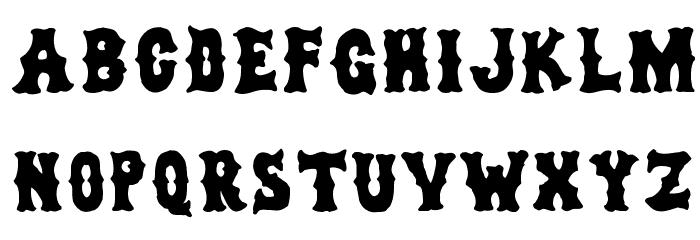 dirty sox Font Litere mari
