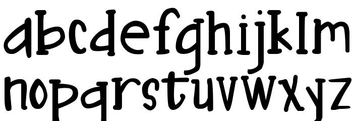 DJB Nouveau Straight फ़ॉन्ट लोअरकेस