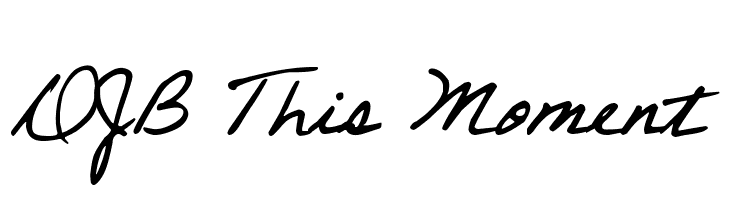 DJB This Moment  Free Fonts Download