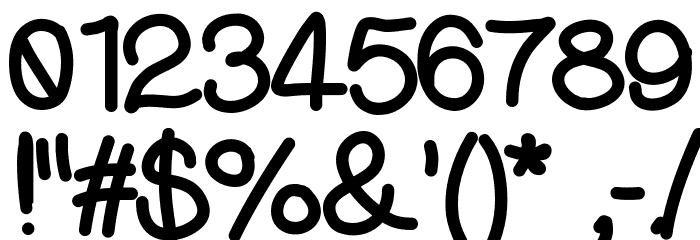 DjuiceWriting Font OTHER CHARS