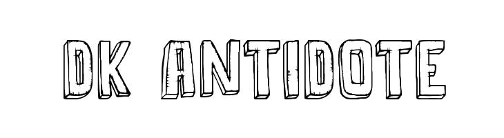 DK Antidote  Fuentes Gratis Descargar
