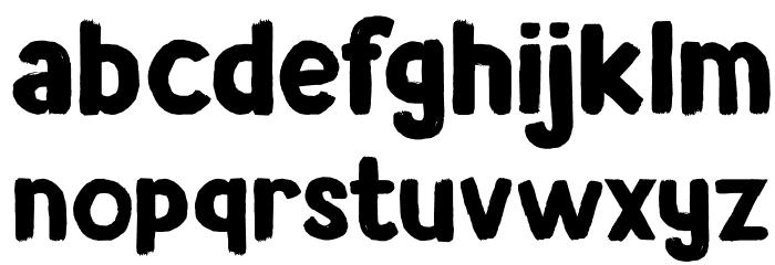 DK Avontuur Regular Schriftart Kleinbuchstaben