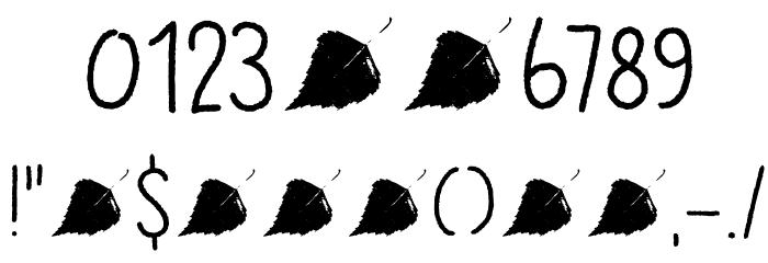 DK Betula Regular Schriftart Anderer Schreiben