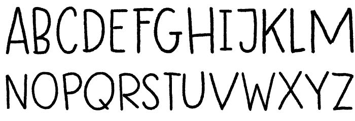 DK Betula Regular 字体 大写