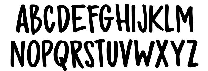 DK Bupkis Regular フォント 大文字