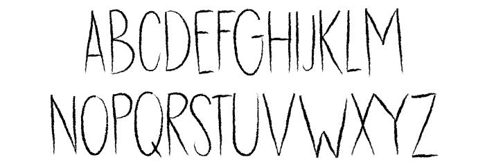 DK Dubbel Zout Regular Caratteri MAIUSCOLE