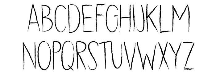 DK Dubbel Zout Regular Caratteri MINUSCOLO