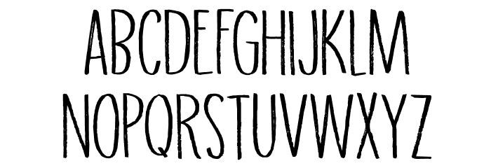 DK Grigory Regular Caratteri MAIUSCOLE