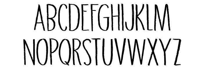 DK Grigory Regular Caratteri MINUSCOLO