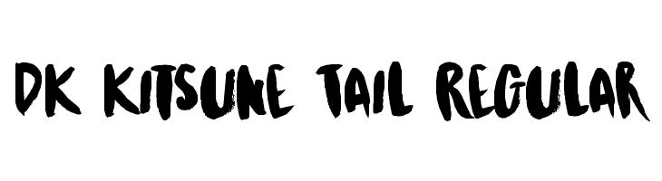 DK Kitsune Tail Regular  Free Fonts Download