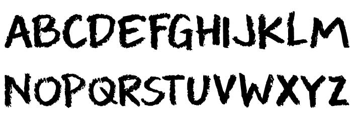 DK Leftover Crayon Regular لخطوط تنزيل الأحرف الكبيرة