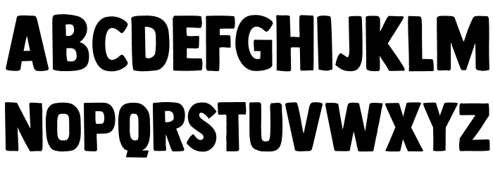 DK Longreach Regular 字体 小写