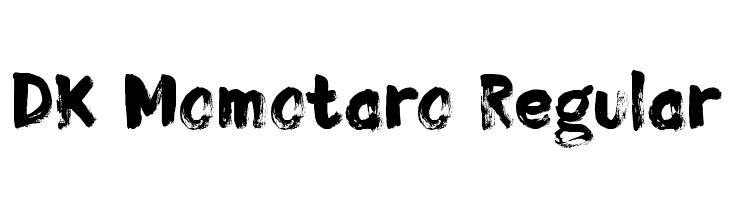 DK Momotaro Regular  Free Fonts Download