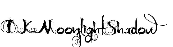 DK Moonlight Shadow  baixar fontes gratis