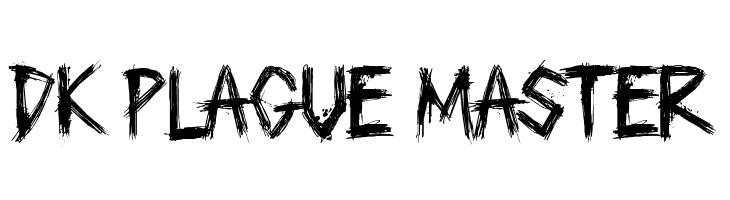 DK Plague Master  Free Fonts Download