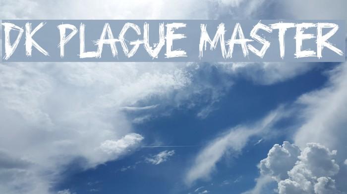 DK Plague Master Fonte examples