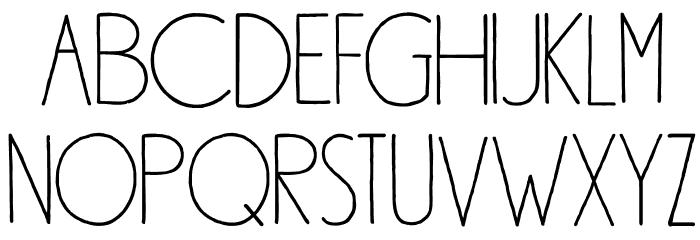 DK Southside Fizz Regular Font UPPERCASE