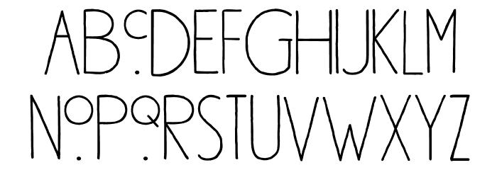 DK Southside Fizz Regular Font LOWERCASE