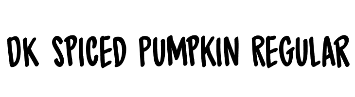 DK Spiced Pumpkin Regular  Descarca Fonturi Gratis
