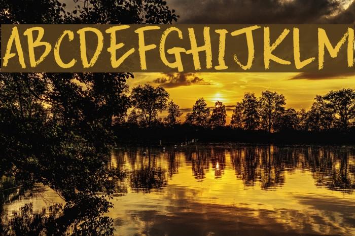DK Splinterhand Regular Font examples