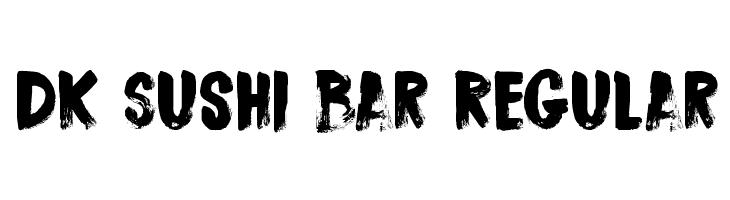 DK Sushi Bar Regular Font