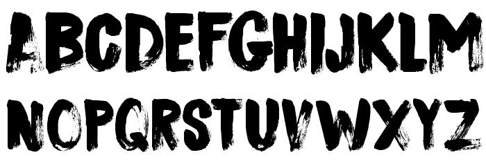 DK Sushi Bar Regular Font LOWERCASE
