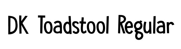 DK Toadstool Regular  免费字体下载