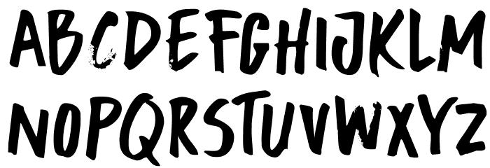 DKBuntaro Schriftart Groß