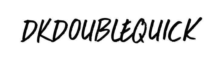 DKDoubleQuick  Free Fonts Download