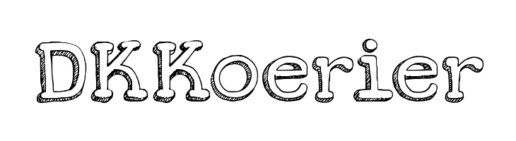 DKKoerier  Free Fonts Download