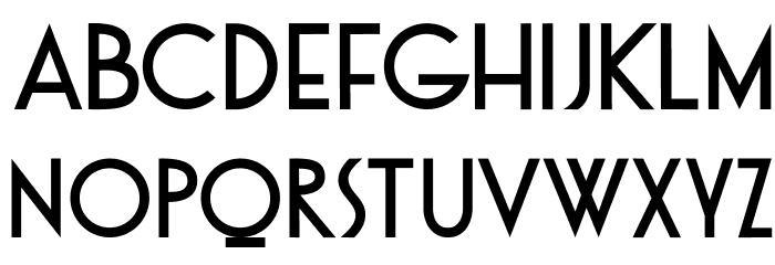 DKOtago 字体 大写