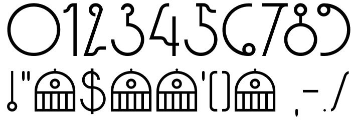 DKPaviljoen Font OTHER CHARS