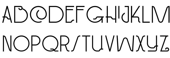 DKPaviljoen Font LOWERCASE