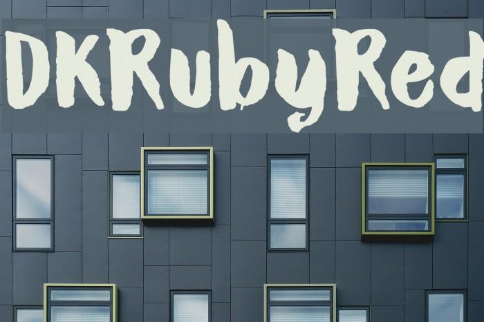 DKRubyRed Caratteri examples