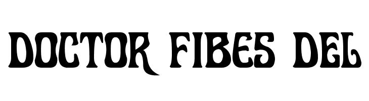 Doctor Fibes DEL  免费字体下载