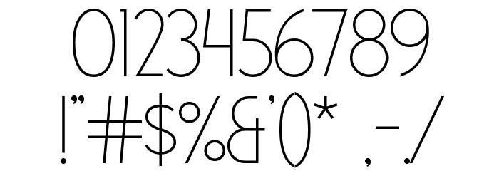 Dolce Vita Light Font Free Fonts Download