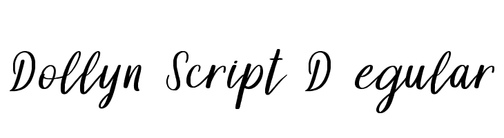 Dollyn Script DEMO Regular  baixar fontes gratis