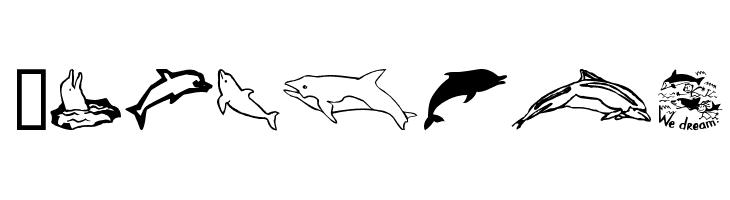 Dolphins  baixar fontes gratis