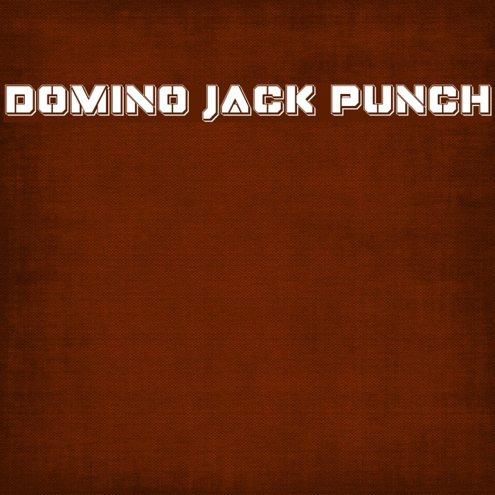 Domino Jack Punch Font examples