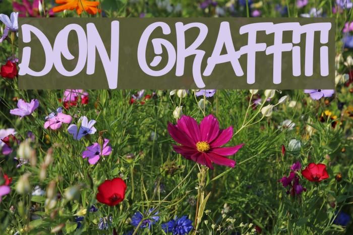 Don Graffiti Fonte examples